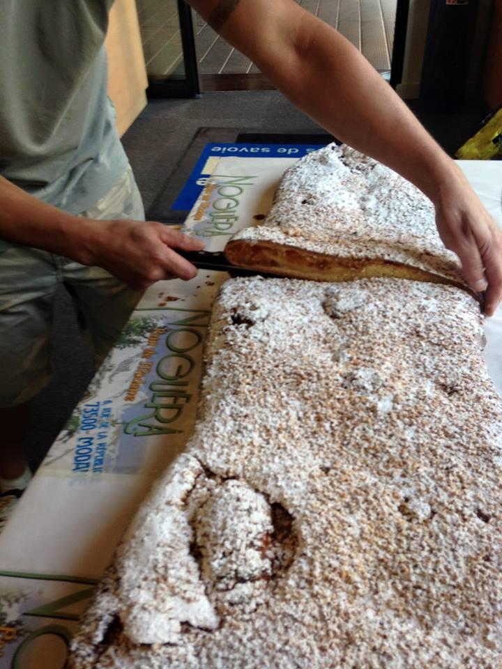 Le pain de Modane, les tartes de saison