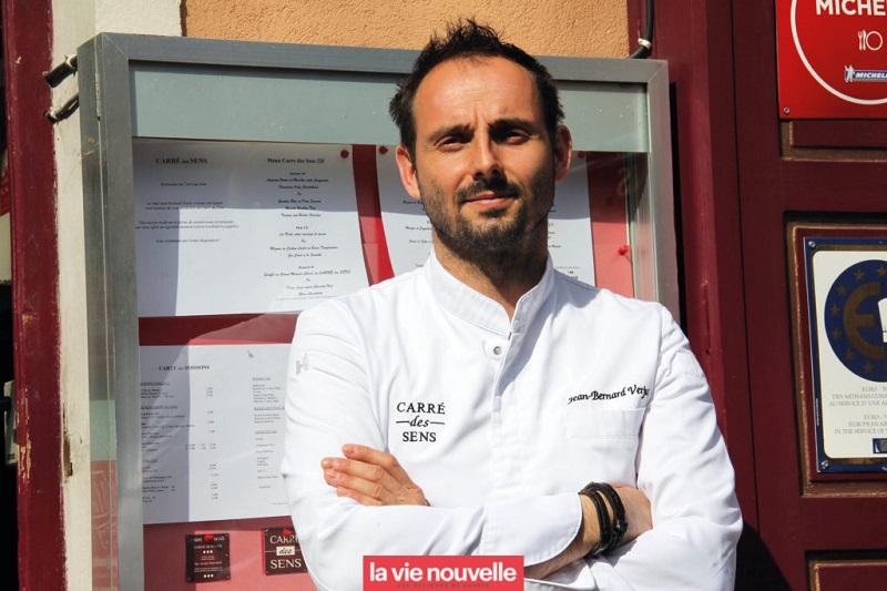 La cuisine subtile et colorée du Carré des Sens avec le chef J.B. Verjus