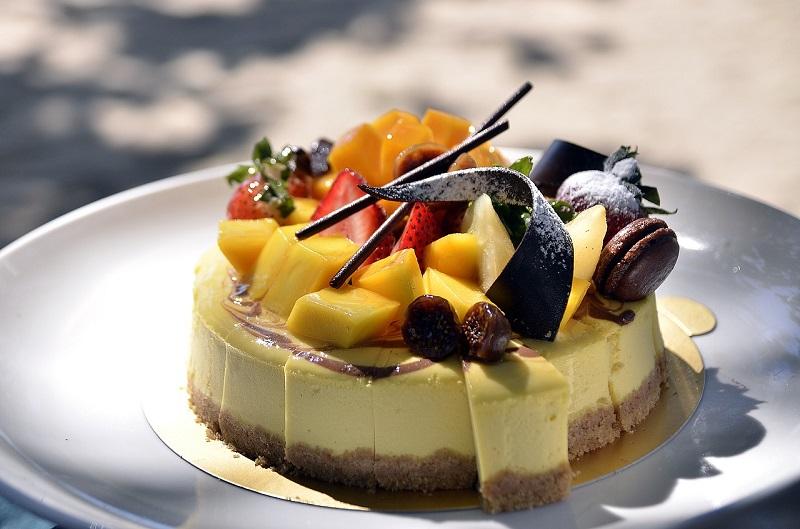 Les desserts de la Parfumerie avec Thierry Game