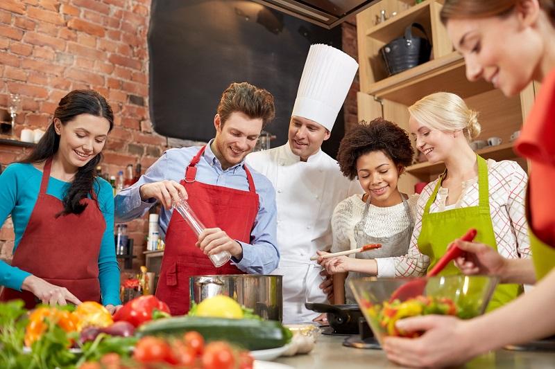 Atelier intensif 5 jours : Apprendre  les techniques de base  de la cuisine
