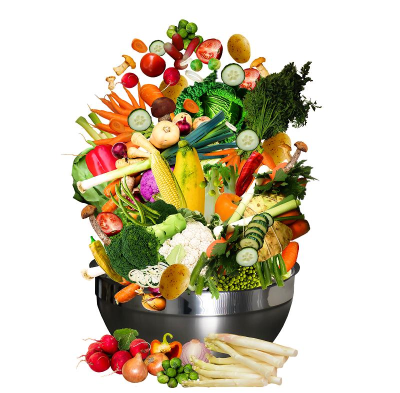 Menu végétarien de saison