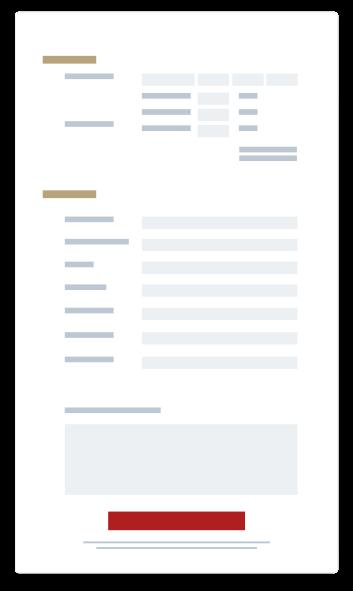 representation graphique simplifie d'un formulaire d'inscription en ligne Linscription.com
