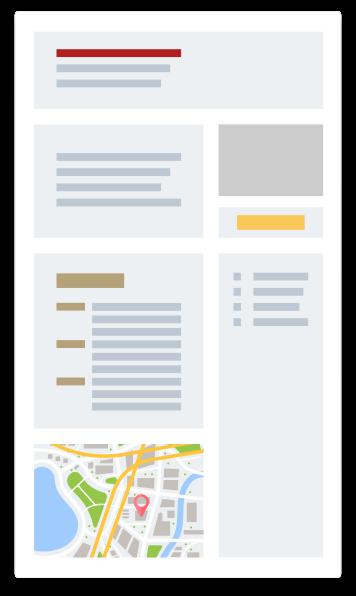 representation graphique simplifie fiche événement pour les inscriptions des participants