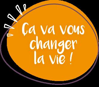 illustration du slogan de la plateforme d'inscriptions en ligne Linscription.com ça va vous changer la vie