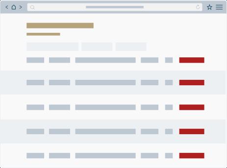 illustration simplifié de l'outil de gestion des creneaux de linscription.com